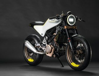 Meet the Husqvarna Vitpilen 401 which is coming to India next year