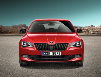 Skoda Superb Sportline launched in India.