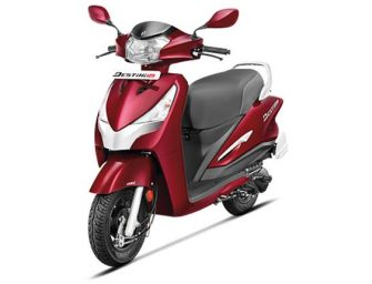 Hero Destini 125 launched at a starting price of Rs. 54,650
