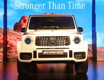 Mercedes-Benz India launches the iconic performance off-roader AMG G 63 at Rs.2.19 crore