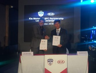 Kia Motors India signs four-year partnership with Bengaluru Football Club