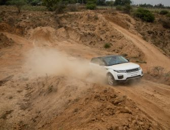 Land Rover vehicles show-off extreme capabilities at The Above & Beyond Tour