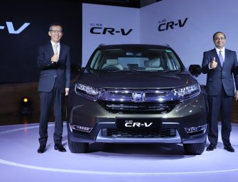 Honda launches its luxurious 5th Generation All New CR-V in India