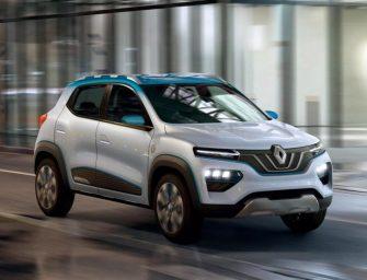 Renault K-ZE Electric Car Revealed