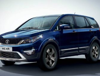 Tata Hexa XM+ launched at a price of Rs.15.27 lakhs