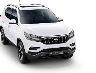 Mahindra's latest SUV, the Y400 to be named Alturas G4