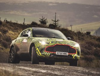 Meet the Aston Martin SUV; officially named as DBX