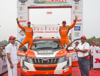 Team Mahindra Adventure's Gaurav Gill Clinches  Sixth INRC Title Triumph