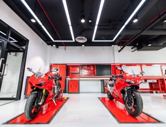 Ducati opens its state-of-the-art training center in Asia