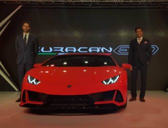 Lamborghini launches Huracan Evo in India at Rs. 3.73 Crore