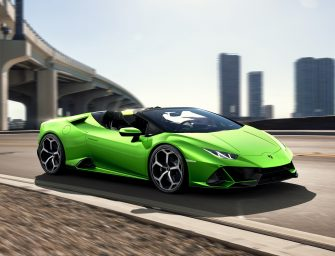 Automobili Lamborghini unveils Huracán EVO Spyder