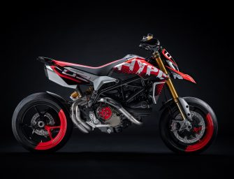 Ducati wins first place at the Concorso d'Eleganza Villa d'Este with the original Hypermotard 950 Concept