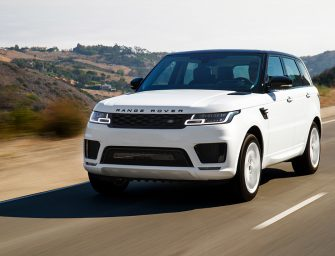 Land Rover launches Petrol Powered Range Rover Sport from Rs. 86.71 Lakh