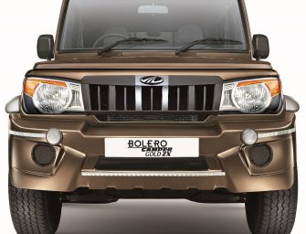 Mahindra launches New Bolero Camper Range