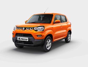 Maruti Suzuki S-PRESSO launched at ₹3.69 lac