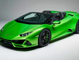 LAMBORGHINI HURACAN EVO SPYDER LAUNCHED AT ₹ 4.1 CRORE