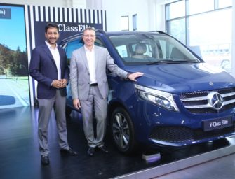 Mercedes launches new V-Class Elite at Rs. 1.10 Crore