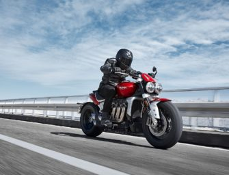 Triumph Motorcycles begins deliveries of the Rocket 3 R