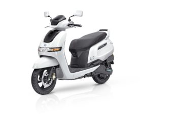 "TVS Motors forays into electric mobility with connected and advanced technology scooter ""TVS iQubeElectric"""