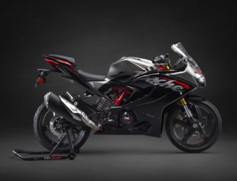 TVS Apache RR310 BS6 launched at Rs. 2.4 Lakh