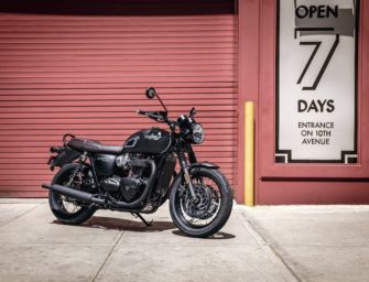 Triumph Motorcycles launches all-new Black editions of Bonneville T100 & T120