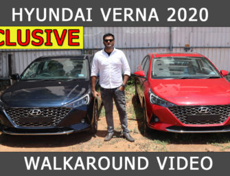2020 Hyundai Verna Facelife: All You Need To Know (Video) | PitstopWeekly