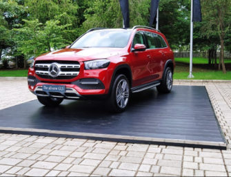 Mercedes-Benz India launches its most luxurious SUV, the new GLS at Rs.99.90 Lac