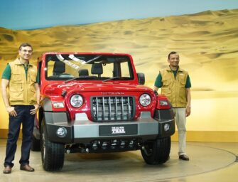 Mahindra Unveils the All-New Thar