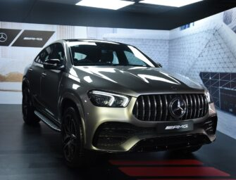 Mercedes-Benz launches the AMG GLE 53 4MATIC+ Coupé in India for Rs. 1.2 Crore