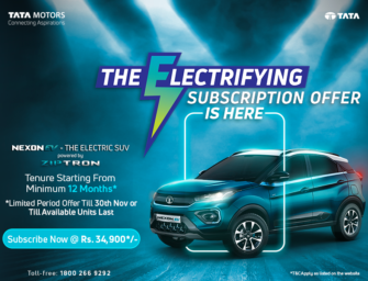 Tata Motors rolls out a new limited-period subscription offer on Nexon EV
